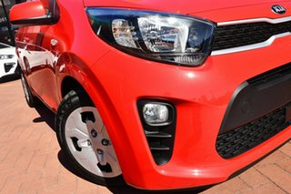 2020 Kia Picanto JA MY21 S Signal Red 5 Speed Manual Hatchback.