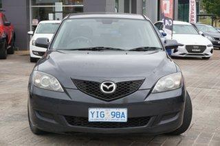 2007 Mazda 3 BK10F2 Maxx Grey 5 Speed Manual Hatchback.