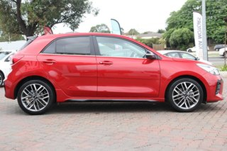 2020 Kia Rio YB MY21 GT-Line DCT Signal Red 7 Speed Automatic Hatchback