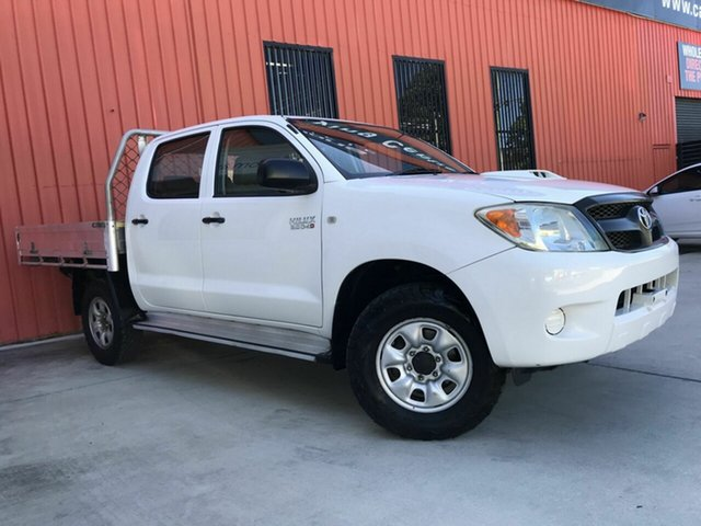 Used Toyota Hilux KUN26R MY08 SR Molendinar, 2008 Toyota Hilux KUN26R MY08 SR White 4 Speed Automatic Utility