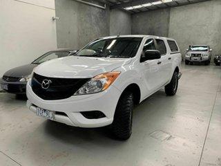 2014 Mazda BT-50 UP0YF1 XT White 6 Speed Manual Utility.