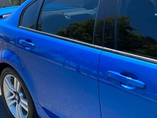 2010 Holden Commodore VE MY10 SV6 Blue 6 Speed Manual Sedan