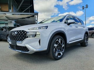 2020 Hyundai Santa Fe Tm.v3 MY21 Elite DCT Glacier White 8 Speed Sports Automatic Dual Clutch Wagon