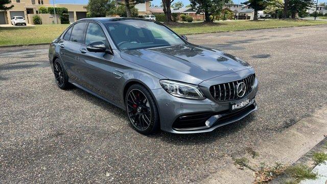 Demo Mercedes-Benz C-Class W205 801MY C63 AMG SPEEDSHIFT MCT S Port Macquarie, 2020 Mercedes-Benz C-Class W205 801MY C63 AMG SPEEDSHIFT MCT S Selenite Grey 9 Speed