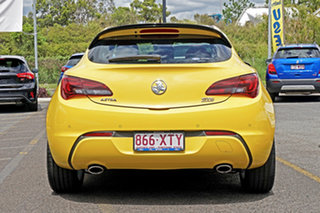 2015 Holden Astra PJ MY15.5 GTC Yellow 6 Speed Manual Hatchback