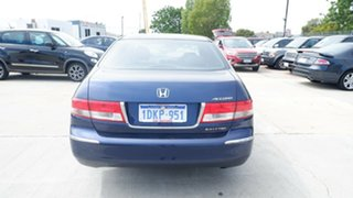 2003 Honda Accord 7th Gen VTi Blue 5 Speed Automatic Sedan