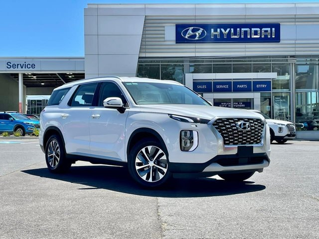 New Hyundai Palisade LX2.V1 MY21 2WD South Melbourne, 2020 Hyundai Palisade LX2.V1 MY21 2WD White Cream 8 Speed Sports Automatic Wagon