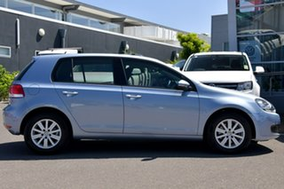 2009 Volkswagen Golf VI MY10 90TSI DSG Trendline Blue 7 Speed Sports Automatic Dual Clutch Hatchback.