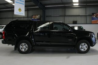 2016 Holden Colorado RG MY16 LS (4x2) Black 6 Speed Automatic Crew Cab Pickup