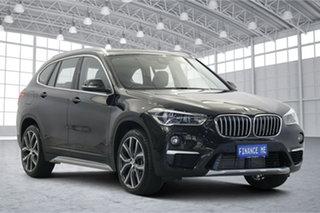 2019 BMW X1 F48 xDrive25i Steptronic AWD Black 8 Speed Sports Automatic Wagon.