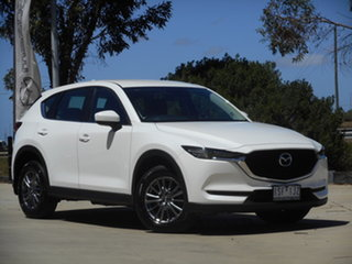 2017 Mazda CX-5 KF2W7A Maxx SKYACTIV-Drive FWD Sport White 6 Speed Sports Automatic Wagon.
