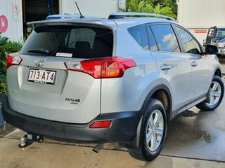 2014 Toyota RAV4 GXL Turbo Diesel Silver 6 Speed Automatic Wagon