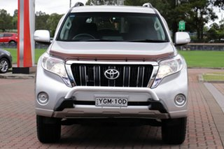 2016 Toyota Landcruiser Prado GDJ150R GXL Silver 6 Speed Sports Automatic SUV