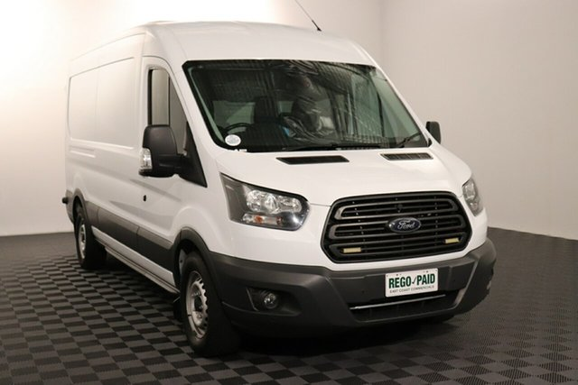 Used Ford Transit VO 2017.75MY 350L (Mid Roof) Acacia Ridge, 2017 Ford Transit VO 2017.75MY 350L (Mid Roof) White 6 speed Automatic Van
