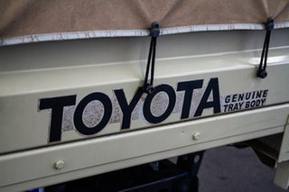 2011 Toyota Landcruiser VDJ79R MY10 GX Sandy Taupe 5 Speed Manual Cab Chassis