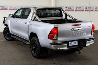 2017 Toyota Hilux GUN126R SR5 Double Cab Silver Sky 6 Speed Manual Utility.