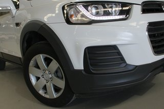 2016 Holden Captiva CG MY16 7 LS (FWD) White 6 Speed Automatic Wagon.