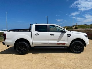 2019 Ford Ranger PX MkIII 2020.25MY FX4 White 6 Speed Manual Double Cab Pick Up.