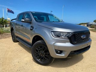 2019 Ford Ranger PX MkIII 2020.25MY FX4 Silver 6 Speed Sports Automatic Double Cab Pick Up.