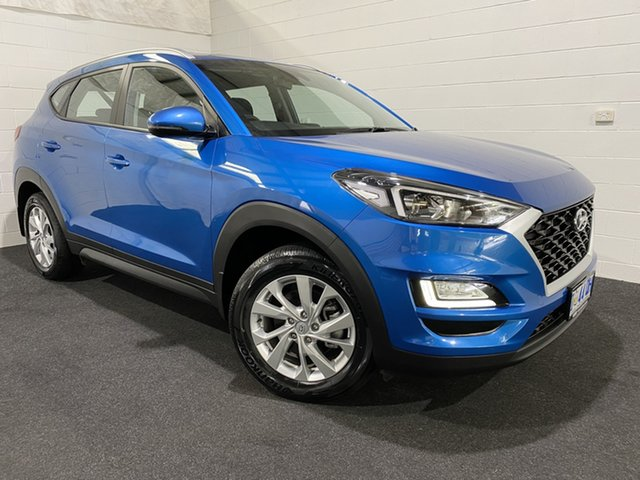 Used Hyundai Tucson TL4 MY20 Active 2WD Glenorchy, 2019 Hyundai Tucson TL4 MY20 Active 2WD Aqua Blue 6 Speed Automatic Wagon