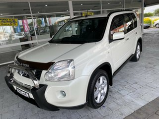 2009 Nissan X-Trail ST-L White Constant Variable Wagon.