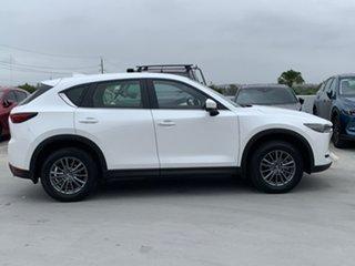 2017 Mazda CX-5 KF4WLA Maxx SKYACTIV-Drive i-ACTIV AWD Sport White 6 Speed Sports Automatic Wagon.