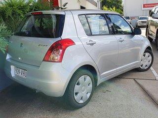 2008 Suzuki Swift Silver 4 Speed Automatic Hatchback
