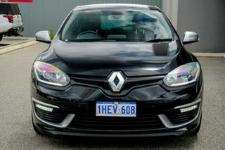 2015 Renault Megane III B95 Phase 2 GT-Line EDC Black 6 Speed Sports Automatic Dual Clutch Hatchback