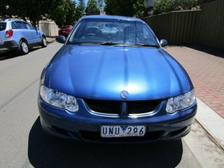 2001 Holden Commodore VX II Executive Blue 4 Speed Automatic Sedan.