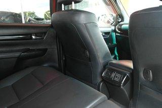 2018 Toyota Hilux GUN126R Rugged X Double Cab Orange 6 Speed Sports Automatic Utility