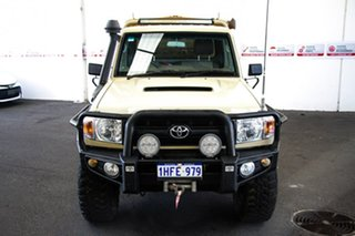 2011 Toyota Landcruiser VDJ79R MY10 GX Sandy Taupe 5 Speed Manual Cab Chassis.