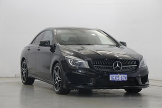 2016 Mercedes-Benz CLA-Class C117 806MY CLA200 d DCT Black 7 Speed Sports Automatic Dual Clutch