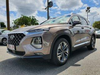 2019 Hyundai Santa Fe TM.2 MY20 Highlander Tan Brown 8 Speed Sports Automatic Wagon.