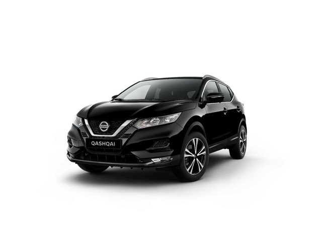 New Nissan Qashqai J11 Series 3 MY20 ST-L X-tronic Moorooka, 2020 Nissan Qashqai J11 Series 3 MY20 ST-L X-tronic Pearl Black 1 Speed Constant Variable Wagon