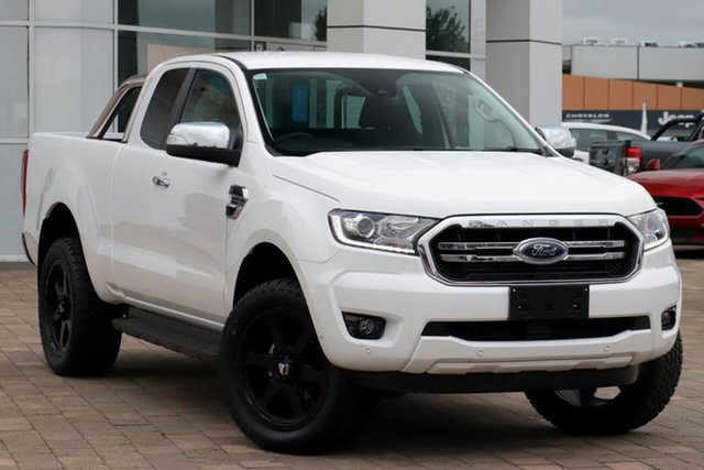 Used Ford Ranger PX MkIII 2019.00MY XLT Warwick Farm, 2019 Ford Ranger PX MkIII 2019.00MY XLT White 10 Speed Sports Automatic Super Cab Pick Up