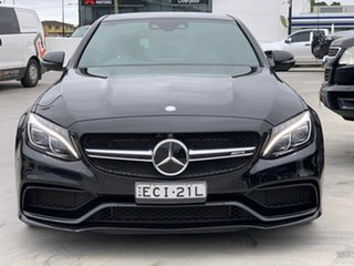 2016 Mercedes-Benz C-Class W205 807MY C63 AMG SPEEDSHIFT MCT S Black 7 Speed Sports Automatic Sedan