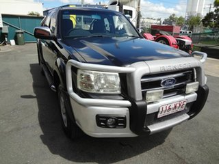 2008 Ford Ranger PJ XLT (4x4) Black 5 Speed Manual Super Cab Utility