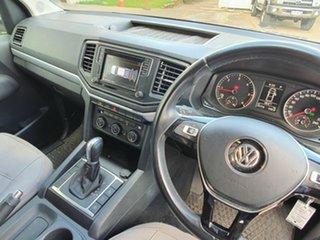 2017 Volkswagen Amarok V6 Sportline White 8 Speed Automatic Dual Cab