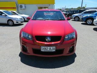 2010 Holden Commodore VE II SV6 Red 6 Speed Automatic Sedan.