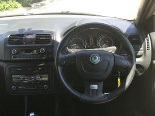 2012 Skoda Fabia 5JF MY13 RS DSG 132TSI Silver 7 Speed Sports Automatic Dual Clutch Hatchback.