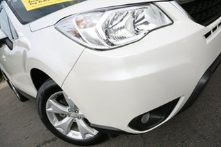 2014 Subaru Forester S4 MY14 2.5i-L Lineartronic AWD Satin White 6 Speed Constant Variable Wagon.