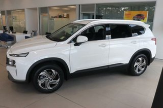 2020 Hyundai Santa Fe Tm.v3 MY21 Active DCT White Cream 8 Speed Sports Automatic Dual Clutch Wagon