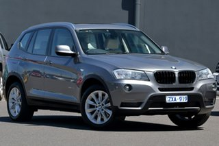 2013 BMW X3 F25 MY1112 xDrive20d Steptronic Grey 8 Speed Automatic Wagon.