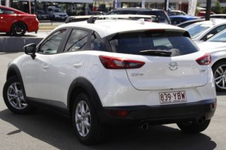 2016 Mazda CX-3 DK2W7A Maxx SKYACTIV-Drive White 6 Speed Sports Automatic Wagon.