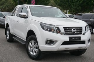 2019 Nissan Navara D23 S4 MY20 ST King Cab White 7 Speed Sports Automatic Utility.