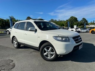 2008 Hyundai Santa Fe CM MY08 SX White 5 Speed Sports Automatic Wagon