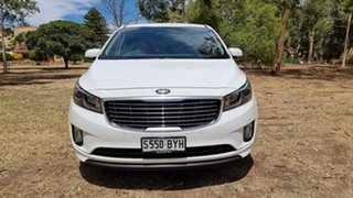 2015 Kia Carnival YP MY15 SLi White 6 Speed Sports Automatic Wagon