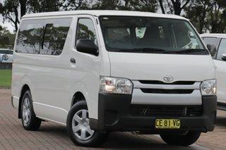 2015 Toyota HiAce TRH201R LWB White 6 Speed Automatic Van.