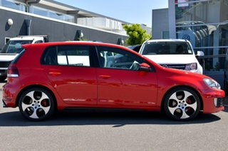 2010 Volkswagen Golf VI MY10 GTI DSG Red 6 Speed Sports Automatic Dual Clutch Hatchback.