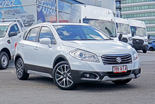 2015 Suzuki S-Cross JY GLX White 7 Speed Constant Variable Hatchback.